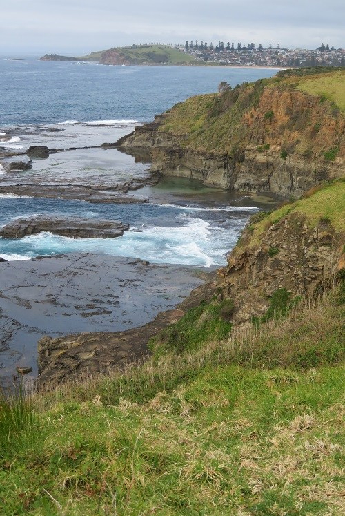 Coast views along the Kiama Coast Walk