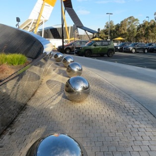 Sculpture at National Museum Canberra