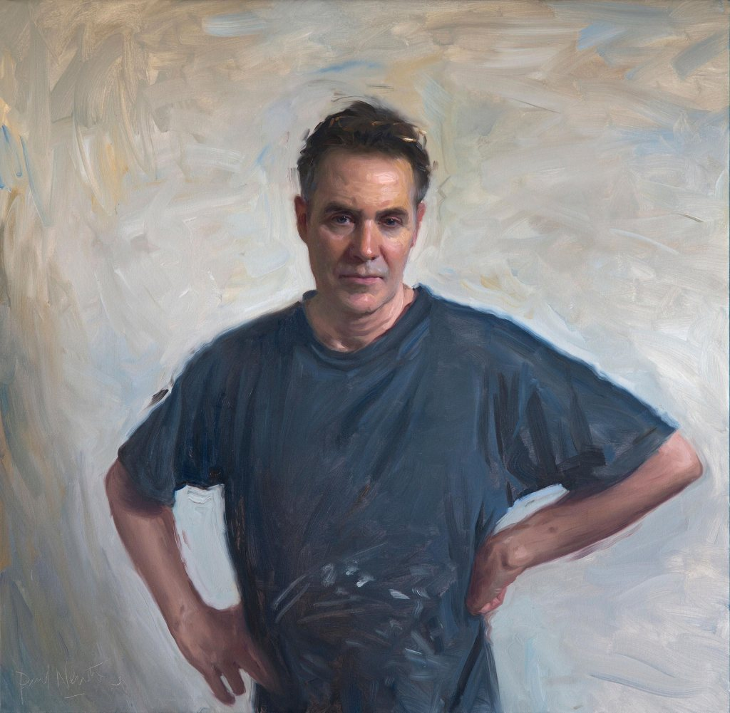 Finalist- Paul Newton - Darling Portrait Prize
