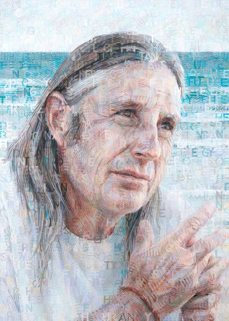 Finalist - Tim Winton - Darling Portrait Prize