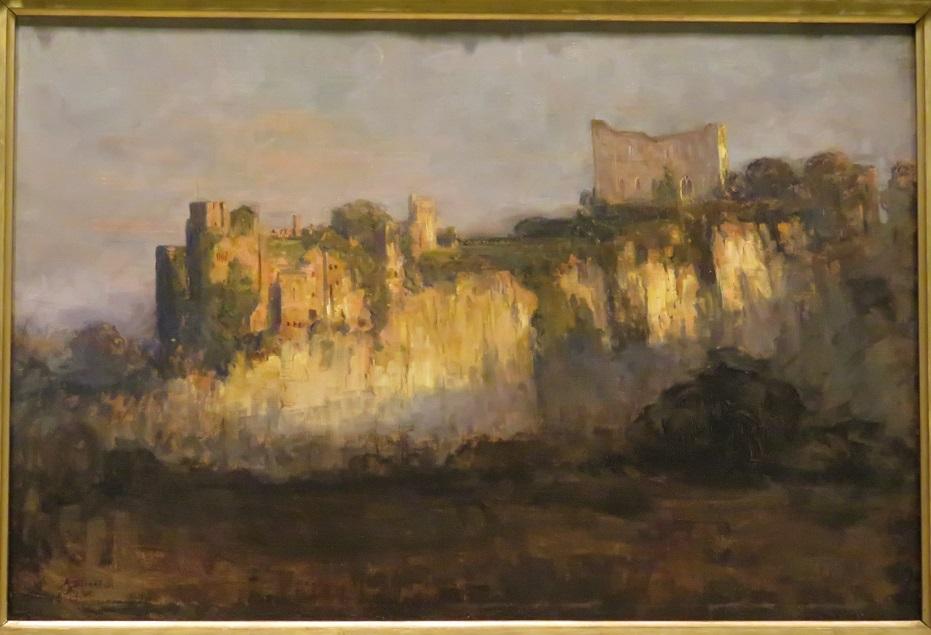 Arthur Streeton - Chepstow Castle - 1902