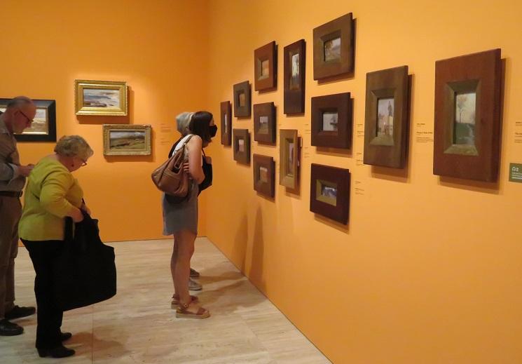 Arthur Streeton Exhibition Art Gallery of NSW