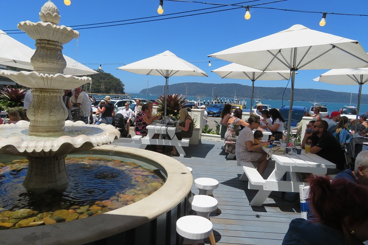 Lunch at The Boat House Patonga