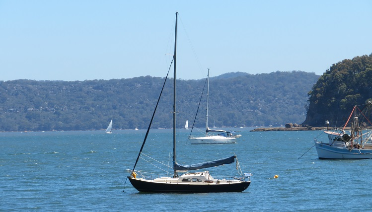 Water views at Patonga