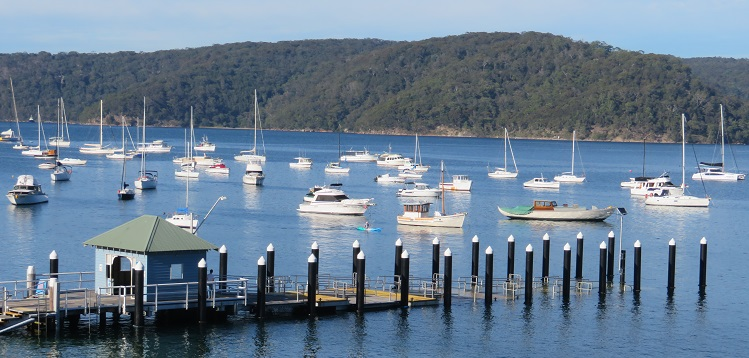 Pittwater view at Palm Beach
