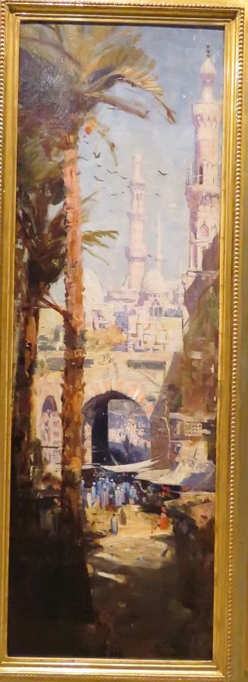 Arthur Streeton - Minarets - Cairo - 1897