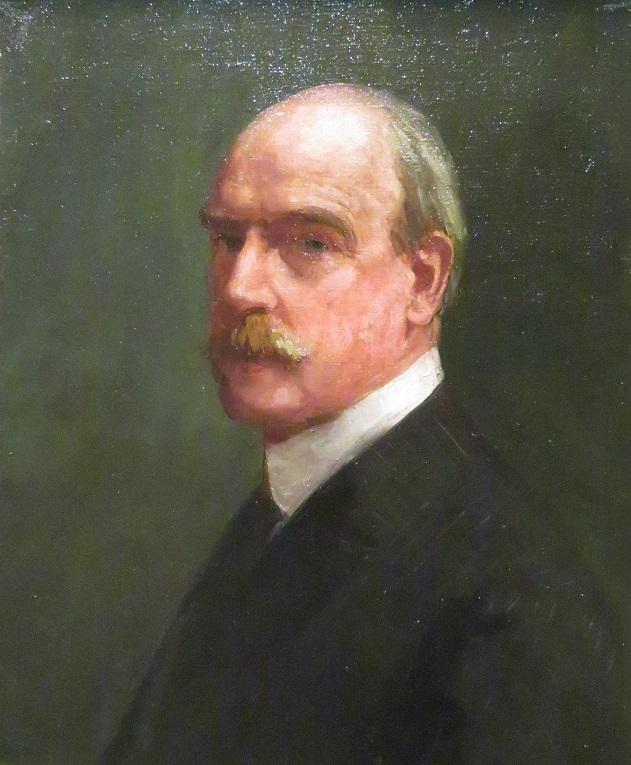 Arthur Streeton Self portrait - 1923