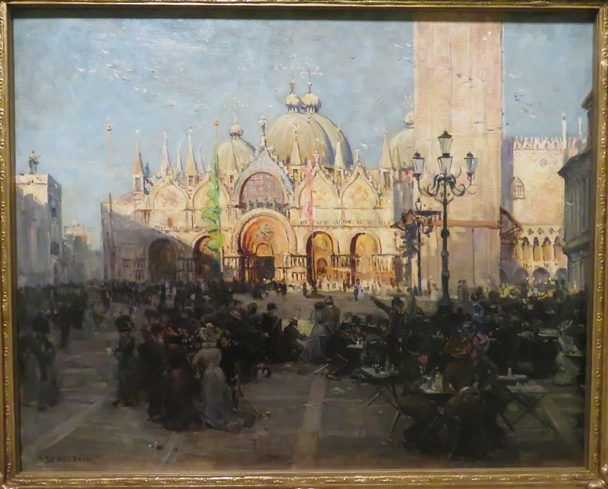 Arthur Streeton - St Marks - Venice - 1908