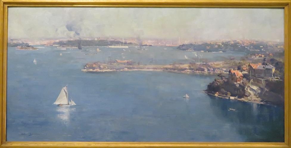 Arthur Streeton - Sydney Harbour - 1907