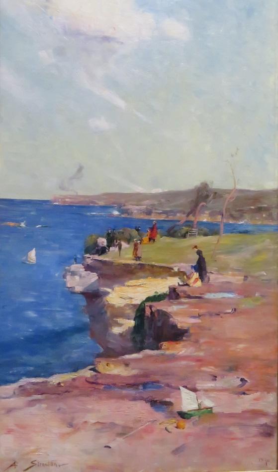 Arthur Streeton - The Blue Pacific - 1890
