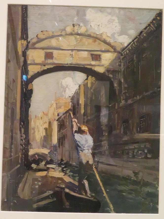 Arthur Streeton - The Bridge of Sighs - Venice - 1908