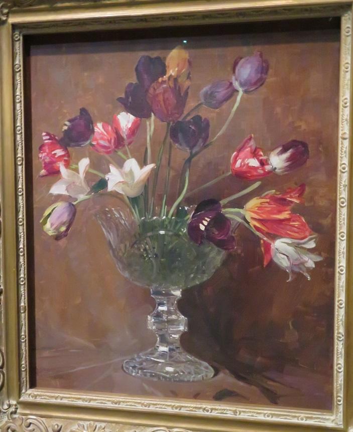 Arthur Streeton - Tulips - 1930