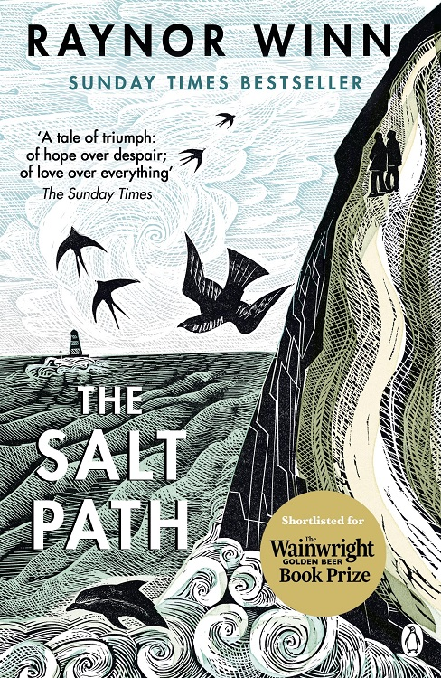 Book cover - Raynor Winn's The Salt Path - Penguin