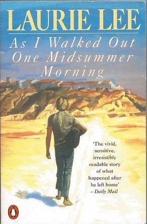 Laurie Lee's book cover - pinterest