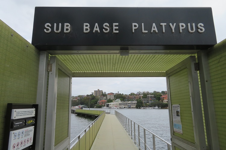 Stage 5 Bondi to Manly - Platypus Submarine Base