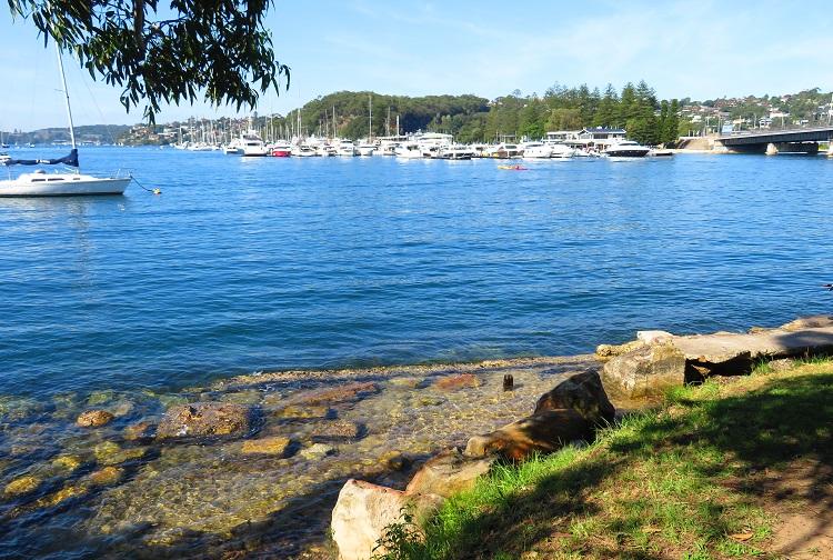 Spit Bridge and boats - Sydney Harbour