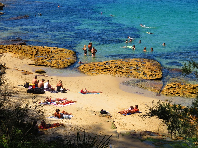 Sydney Harbour beaches - close to Manly