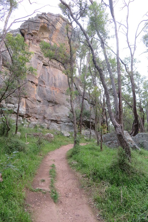 The path on the way to The Drip, Mudgee