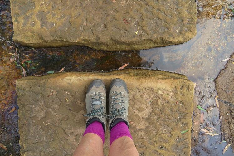 Walking at The Drip, Mudgee