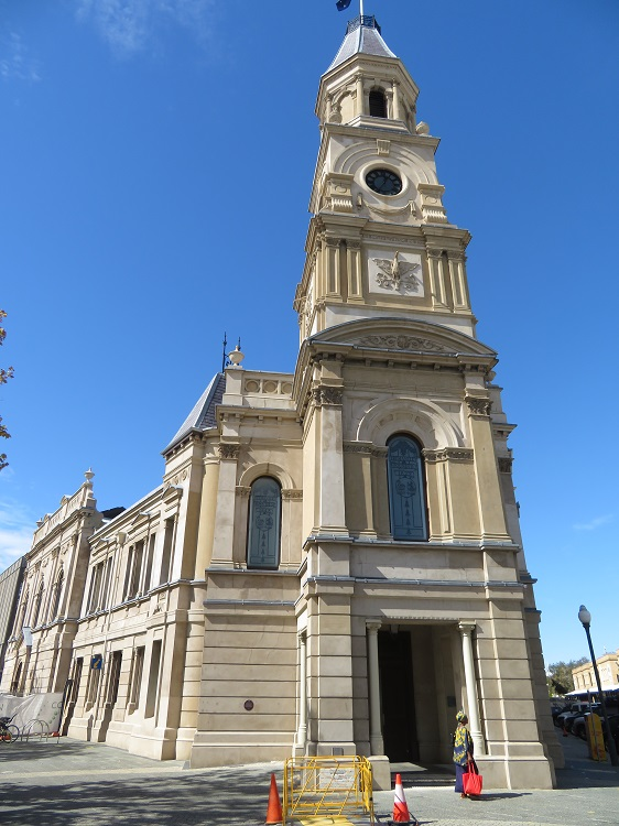 Beautiful buildings at Fremantle, Western AustraliaBeautiful buildings at Fremantle, Western Australia