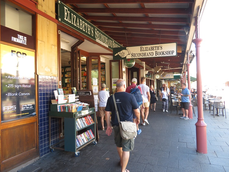 Capuccino strip at Fremantle, Western Australia