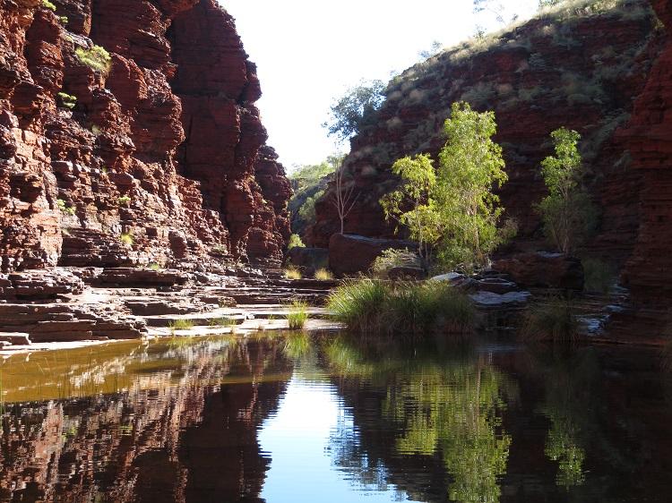 Kalamina Gorge, Karijini National Park Western AustraliaKalamina Gorge, Karijini National Park Western Australia