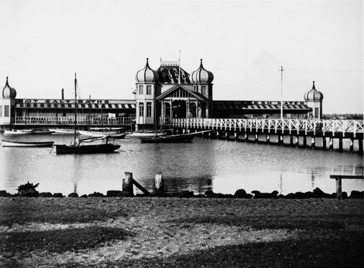 Perth City Baths c.1900.
