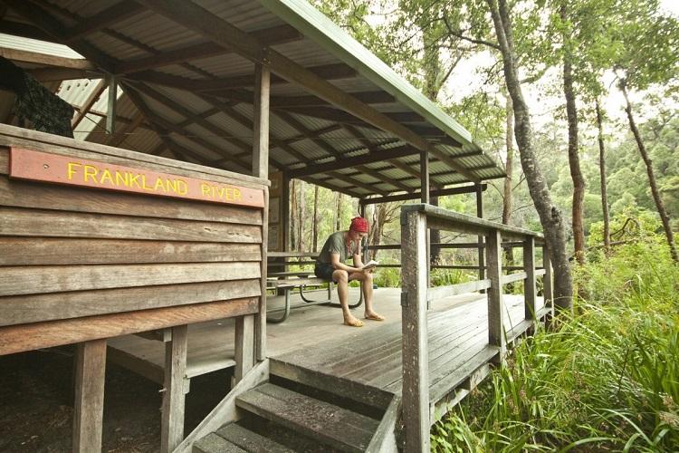 Frankland River Shelter on the Bibbulmun Track Source: www.bibbulmuntrack.org.au