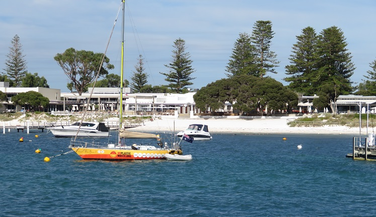 Perfect boating water on Rottnest Island