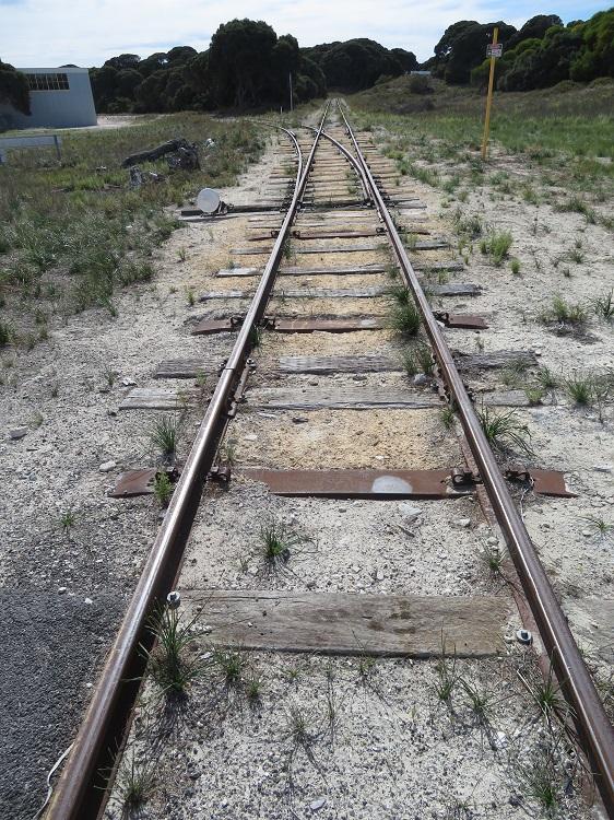 Railway line on Rottnest Island