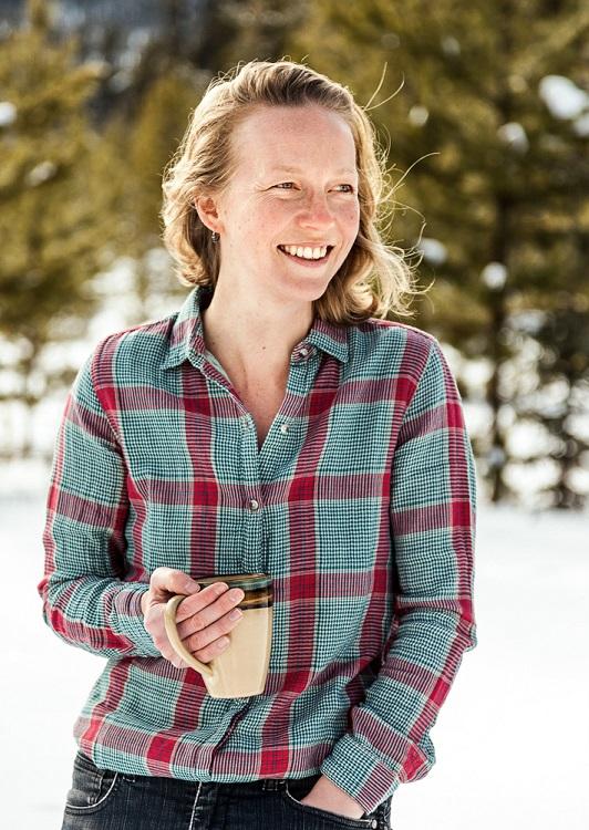 Kate Harris author. Photo credit: Piia Kortsalo