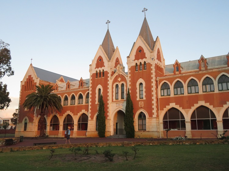 Early morning at New Norcia Monastery, Western Australia.
