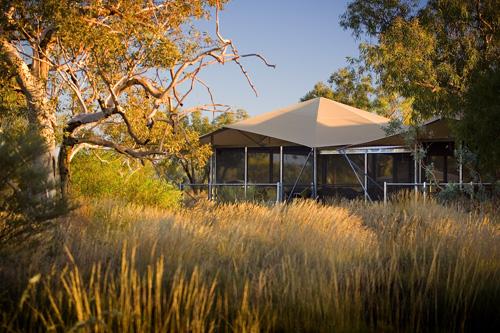 A luxury option at Karijini Eco Retreat, Western Australia