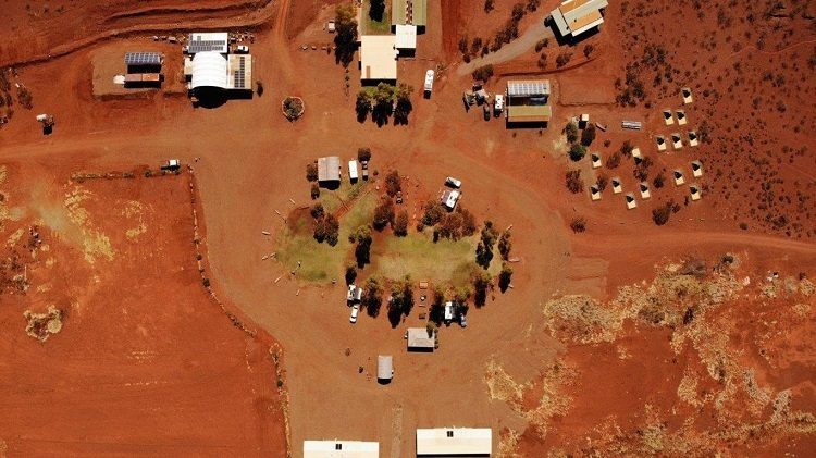 Aerial View of Cheela Plains. Station. Source: Cheela Plains Station