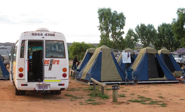 Camping at Yardie Homestead