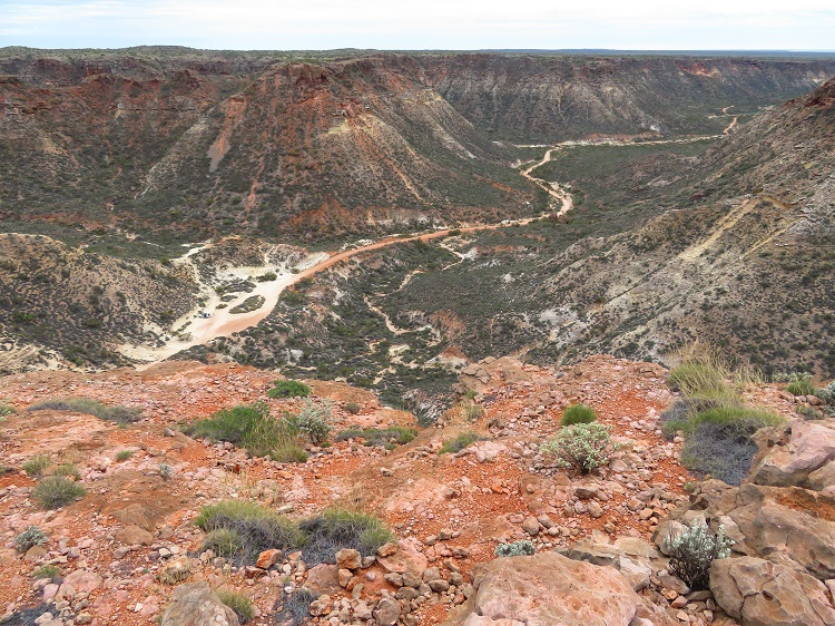 The Shot Hole Canyon in Cape Range National Park, Western Australia