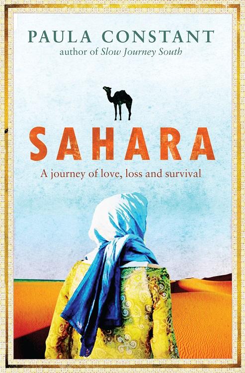 Sahara - book cover by Paula Constant